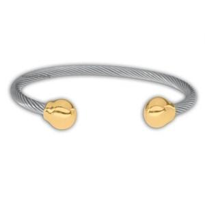 Professional Steel Twist Magnetic Gold Balls