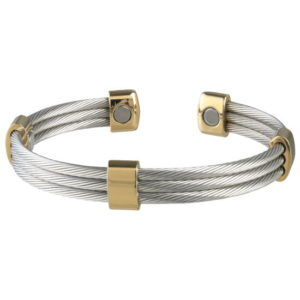 Trio Cable Stainless / Gold Magnetic