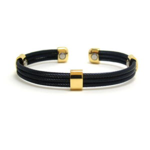 Trio Cable Black / Gold